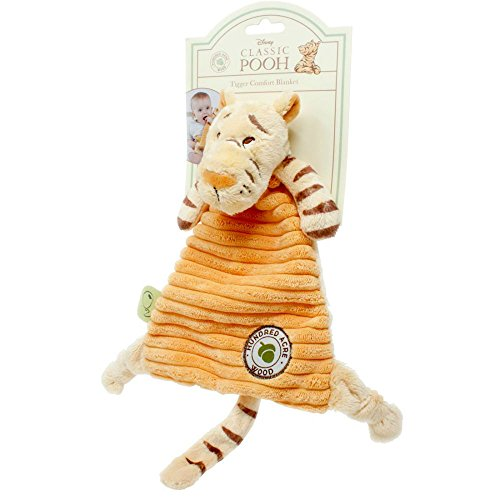 (Tigger Comfort Blanket Hundred Acre Wood Collection Winnie the Pooh)