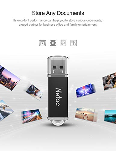 USB Flash Drive 16GB x 5 - USB 2.0 Interface Digital, Thumb Drive with Indicative Light, Compatible with Computer/Laptop/External Memory Storage, Stick Jump Drive for Photo/Video Backup - G358