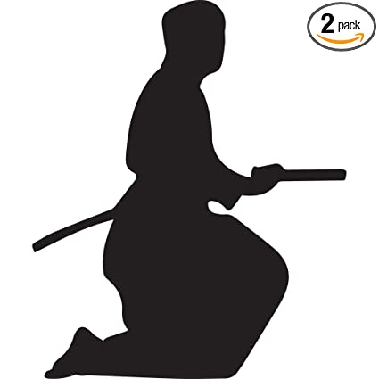 Amazon.com: Samurai Silhouette Warrior Ninja clipart 6 ...