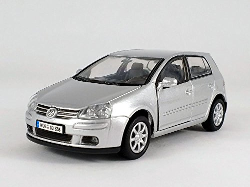 Benz Mercedes Cars Class V (4.5 Inch VW Golf V Scale Diecast Metal Model - Silver)