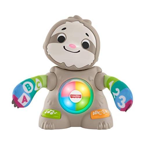 chollos oferta descuentos barato Fisher price perezoso linkimals juguete interactivo bebés 9 meses mattel ghy88