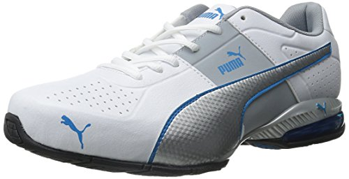 dcbaf88228 PUMA Men's Cell Surin 2-M, White/Silver/Cloisonnee, 6.5 M US: Amazon.ca:  Shoes & Handbags