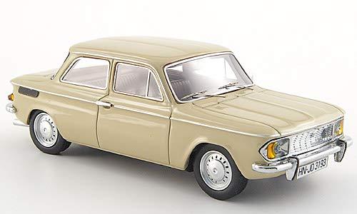 1969 Modellauto Unbekannt NSU 1200//C Fertigmodell Neo 1:43 beige