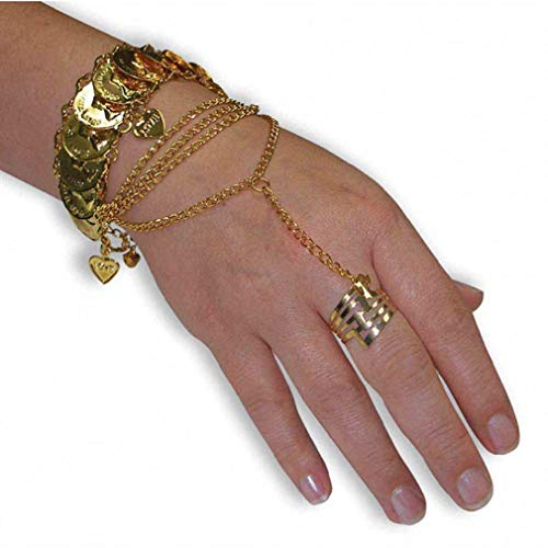Adult Desert Princess Hand Jewelry - Costume Accessory -