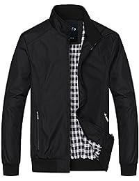Men's Casual Lightweight Zip Coat Windbreaker Jacket