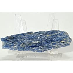 95g Rich Blue Kyanite Cluster Sparkling Natural Mineral Cab Blue Kyanite in Matrix Rough Crystal Gemstone - Brazil