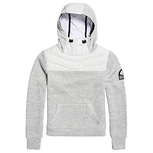 Hoodie Dawn Female Hoodies Marl Sd M Hybrid Funnel And Storm Grey Superdry Sweatshirts Oqxw8zE0
