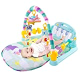 KUANDARM Baby Playmats with Detachable and Fun