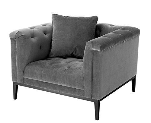 Casa Padrino butaca Gris - Muebles para la habitación ...