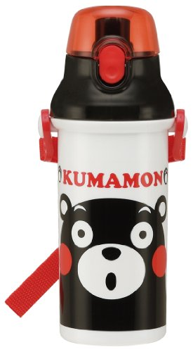 Mon bear one-touch plastic bottle PSB5SAN drink (KUMAMON) dishwasher straight (japan import)