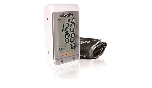 Microlife BP A200 AFIB - Tensiómetro electrónico de brazo: Amazon.es: Salud y cuidado personal