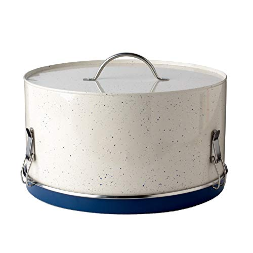 (Premium Quality Metal - Milk Street - Cake, Dessert Carrier with Stainless Steel Handle, 11 inches -)