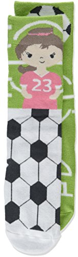 4a941a8fd Soccer Player   Field Child s 18-36 Months Stretch Cotton Story Time Knee  High Socks