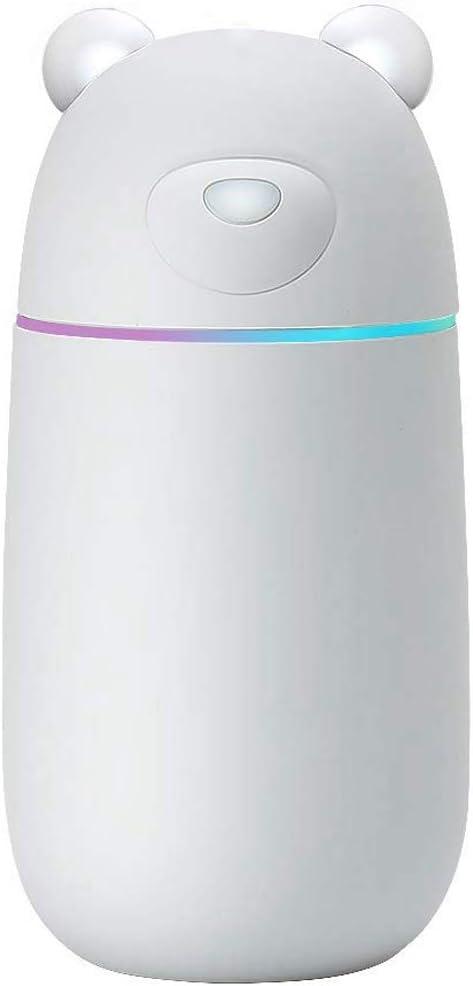Xigeapg Humidificador de Frío Ultrasónico, Humidificadores de Coche Unidad Premium Purificador de Aire con La Operación Silenciosa, Apagado Automático Y USB Humidificador: Amazon.es: Hogar