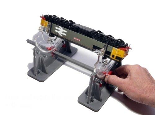 drehbare Lokliege Reparatur Halterung Wartungsliege Auflage Spur N TT H0 HO 0