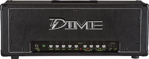 Dime Amplification Dime D100 HEAD Black 120-Watt Guitar Amplifier Head