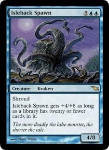Isleback Spawn (Magic the Gathering : Shadowmoor #40 Rare) ()
