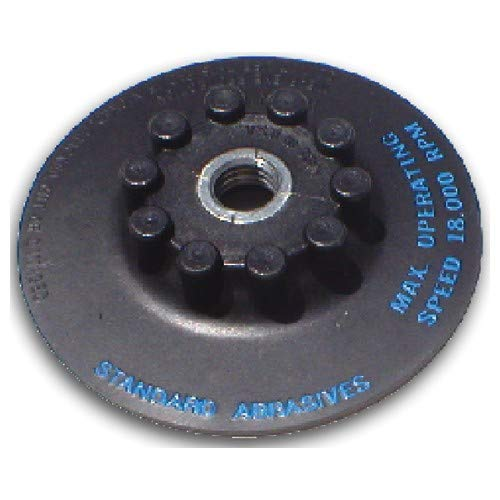 5? - SM55F Style - Resin Fibre Disc Quick Change Holder Pad - ()