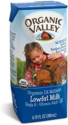 Shelf-Stable Milk: Organic Valley Lowfat