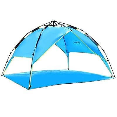 3-4 la défense civile tente de tempête double extérieure tente de camping rembourré 210 * 210 * 150CMr