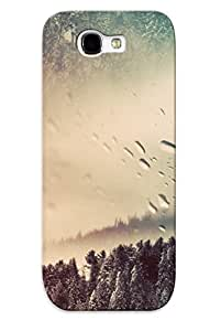 New Snap-on Podiumjiwrp Skin Case Cover Compatible With Galaxy Note 2- Snowy Winter Scenery
