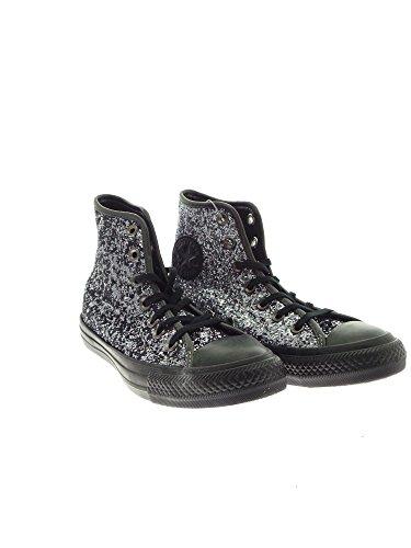 Converse - Converse Chaussures Femme Noir Paillettes All Star - Noir, 35