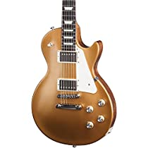 Gibson USA Les Paul Tribute T 2017 Electric Guitar, Satin Gold