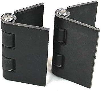 Weld On Hinges Box of 12 Hinges 6 Pairs