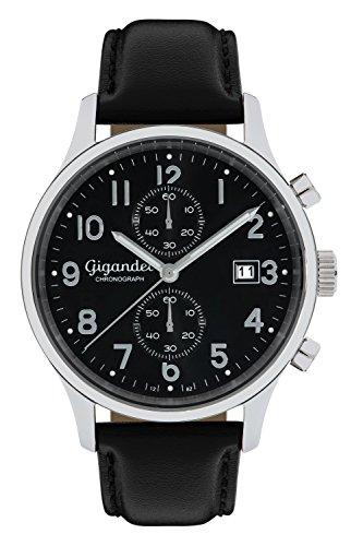 Gigandet SKYSCRAPER Herren Armbanduhr Chronograph Analog Quarz Schwarz G49-005