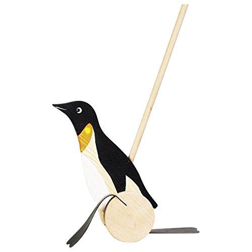 Goki Penguin Push Toy