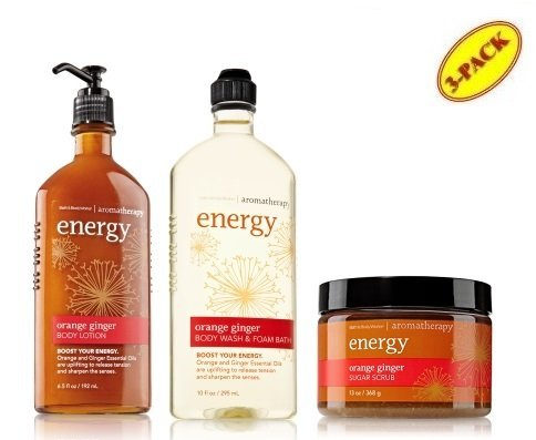 Bath & Body Works Aromatherapy Energy Orange Ginger Body Lot