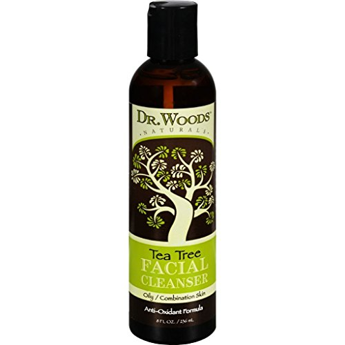 Price comparison product image dolly2u Dr. Woods Facial Cleanser - Tea Tree - 8 oz