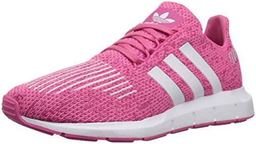 adidas Originals Baby Swift Running Shoe, White/semi Solar Pink, 4K M US Toddler by adidas Originals (Image #8)