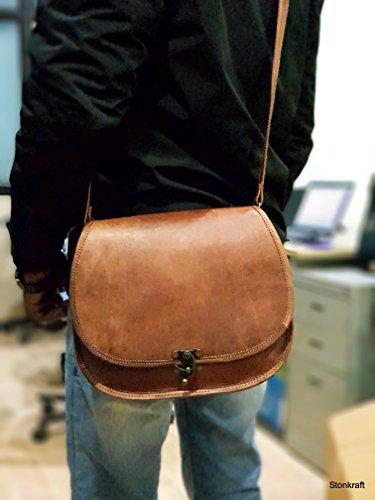 Body office Shoulder Bag messenger Bag Leather Bag 100 cross Bag unisex Genuine college Bag Bag Stonkraft xq61p4H1