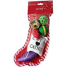 Cat Toy Christmas Stocking