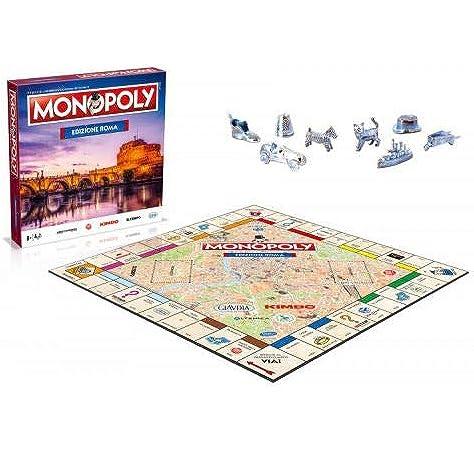 Winning Moves Monopoly - Citta Di Roma Merchandising Ufficiale: Amazon.es: Juguetes y juegos