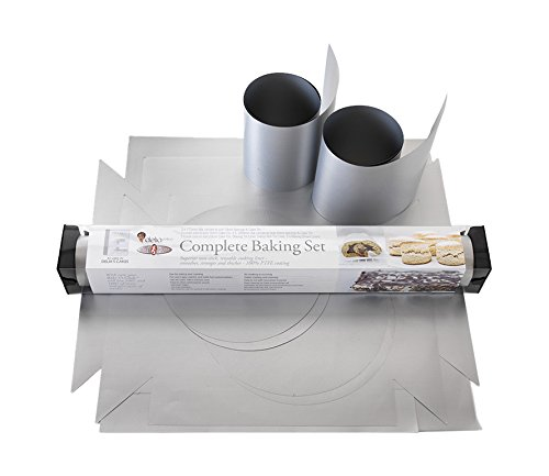 Alan Silverwood Delia Smith Bake-O-Glide Complete Baking Set of Liners 02642 by Alan Silverwood