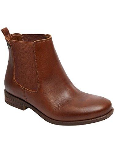 Roxy Diaz - Leder Chelsea Stiefel Für Frauen ARJB700542 Dark Brown