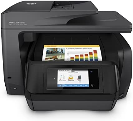 HP OfficeJet Pro 8725 AiO - Impresora multifunción (Inyección de ...