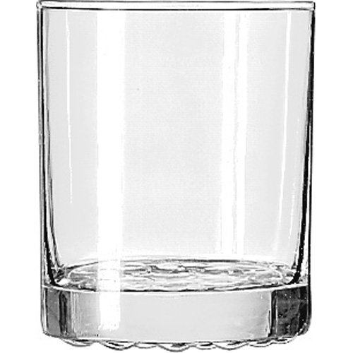 Libbey 23396 Nob Hill 12.25 Oz. Double Old Fashioned Glass - 36 / CS - Nob Hill Old Fashioned