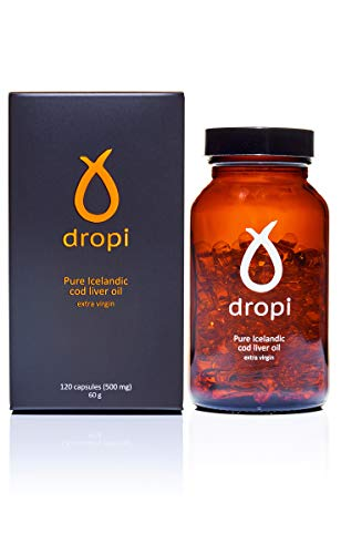 Dropi Pure Icelandic Cod Liver Oil Extra Virgin - 120 capsules