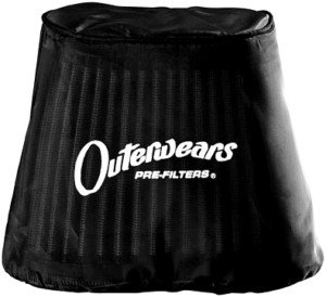 Black Outerwears Water Repellent Prefilters - 20-1211-01