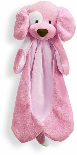 Baby GUND Spunky Huggybuddy Stuffed Animal Plush Blanket, Pink, 15