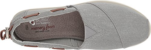 Skechers Shoe Women's Fancy Me Boat Grey Bobs Luxe Chill wr5qIr0p
