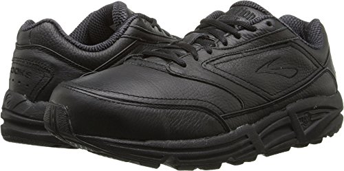 Brooks Men 's Addiction Walker Walking Zapato, color negro, talla 10.5 D