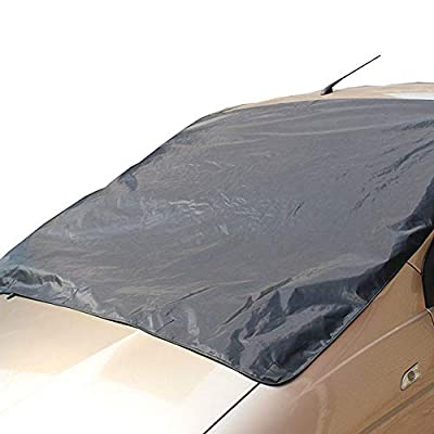 Mikkar Car Snow Ice Protector Visor Sun Shade Fornt Rear Windshield Cover Block Shields