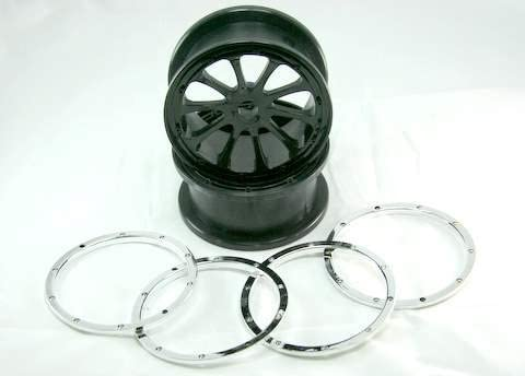Redcat Racing Complete Wheels Rim (2 Piece) [並行輸入品]
