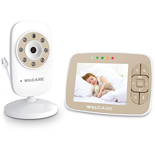 Newborn Baby Monitor with Night Vision Camera  Wireless Two-