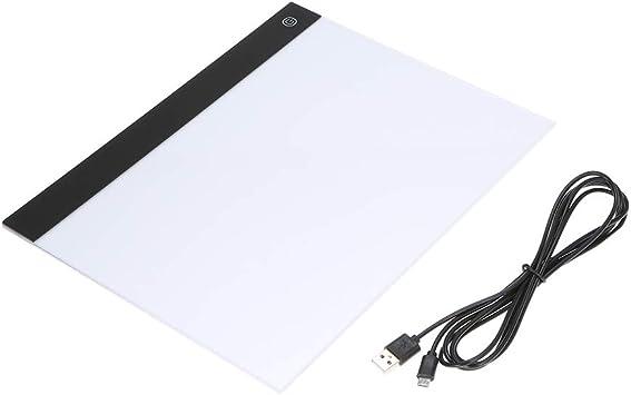 Festnight Tableta gráfica LED Escritura Pintura Mesa de Copia A4 ...