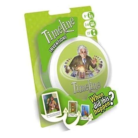 Asmodee ASMTL01INVEN Timeline Inventions Blister, Colores Variados: Amazon.es: Juguetes y juegos